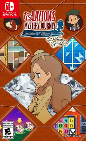 Layton's Mystery Journey: Katrielle And The Millionaires' Conspiracy Deluxe Edition (Switch) - GameShop Asia