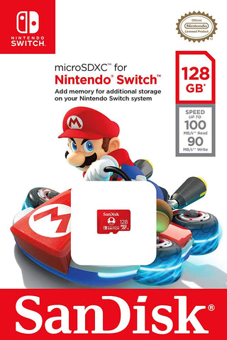SanDisk microSDXC for Nintendo Switch