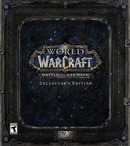 World of Warcraft: Battle for Azeroth Collector's Edition (PC) - GameShop Asia
