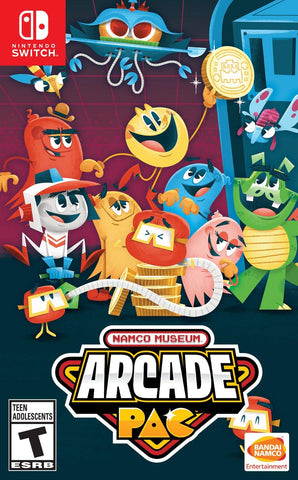 Namco Museum Arcade Pac (Switch)