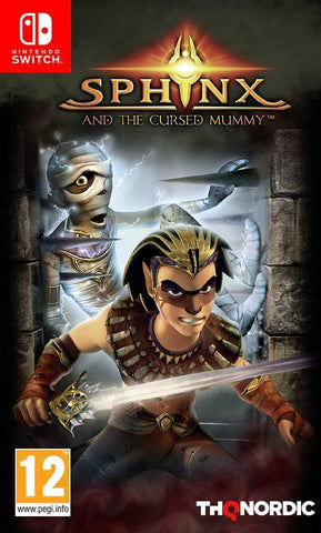 Sphinx & the Cursed Mummy (Switch)