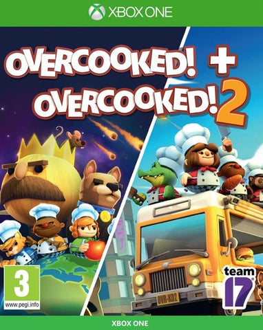 Overcooked! + Overcooked! 2 Double Pack (Xbox One)