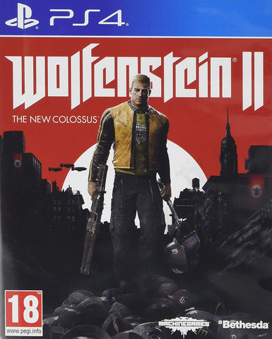 Wolfenstein II: The New Colossus (PS4) - GameShop Asia
