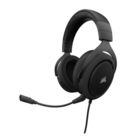 Corsair HS50 Stereo Gaming Headset for Window, MAC, Xbox One, PS4, Switch, iOS, Android - GameShop Asia