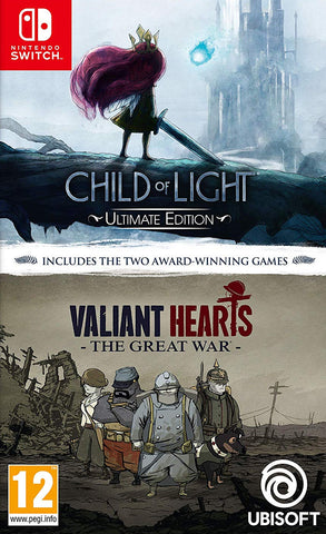 Child Of Light and Valiant Hearts (Switch)