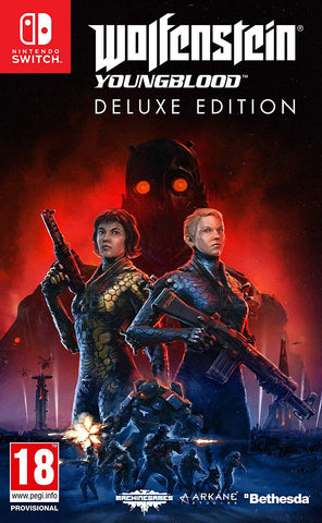Wolfenstein: Youngblood Deluxe Edition (Switch) - Code in a Box