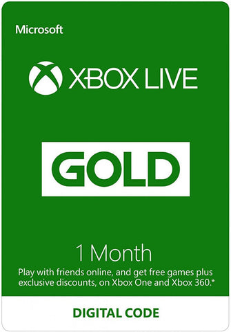Xbox Live 1 Month Gold (South East Asia) - GameShop Asia