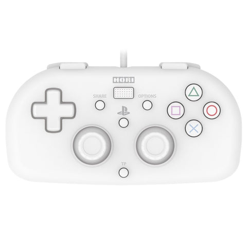 Hori Wired Controller Light White for PlayStation 4 - GameShop Asia