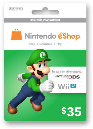 Nintendo eShop Prepaid Card USD35 - Digital Download