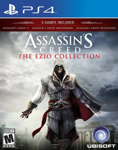 Assassin's Creed The Ezio Collection (PS4) - GameShop Asia