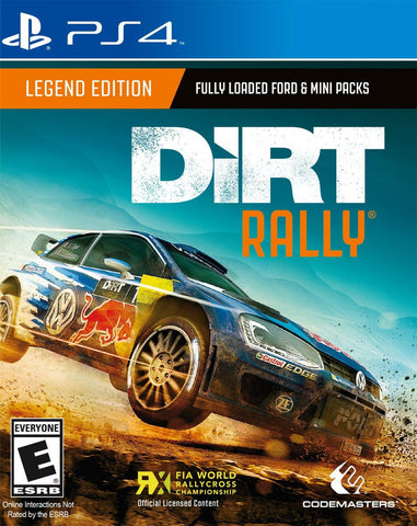 DiRT Rally: Legend Edition (PS4)