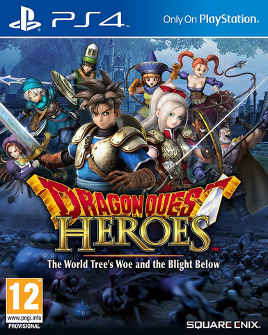 Dragon Quest Heroes: The World Tree's Woe and The Blight Below (PS4) - GameShop Asia