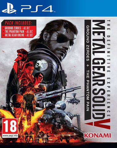 Metal Gear Solid V: The Definitive Experience (PS4) - GameShop Asia