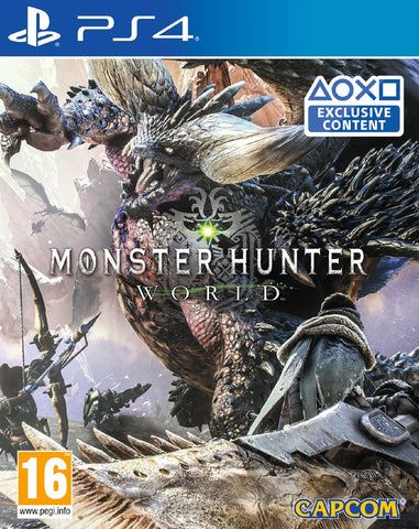Monster Hunter World (PS4) - GameShop Asia