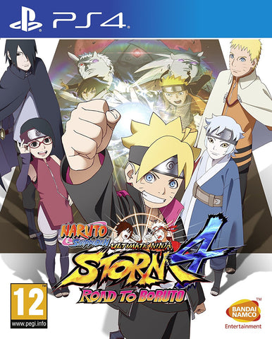 Naruto Shippuden Ultimate Ninja Storm 4: Road to Boruto (PS4) - GameShop Asia