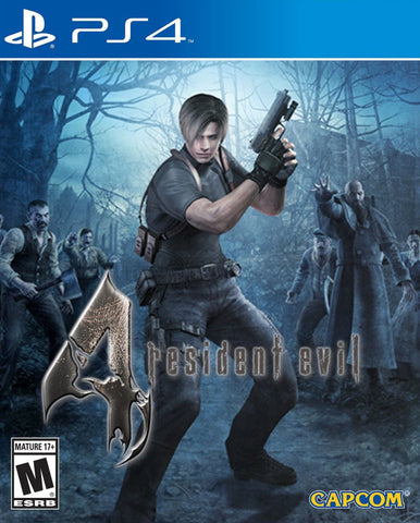 Resident Evil 4 (PS4) - GameShop Asia