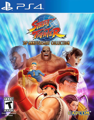 Street Fighter 30th Anniversary Collection (PS4) - GameShop Asia