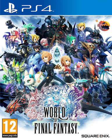 World of Final Fantasy (PS4) - GameShop Asia