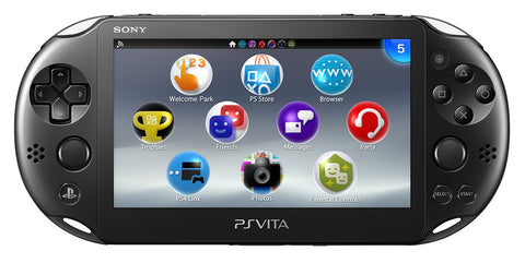 Sony PlayStation Vita Slim Console 2006 Black - GameShop Asia