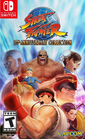 Street Fighter 30th Anniversary Collection (Switch) - GameShop Asia