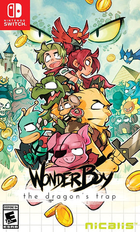 Wonder Boy: The Dragon's Trap (Switch) - GameShop Asia