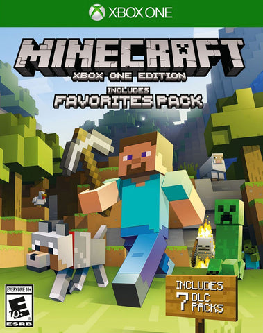 Minecraft: Favorites Pack (Xbox One) - GameShop Asia