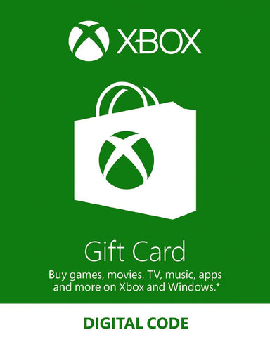Xbox Live Gift Card SGD50 - Digital Download