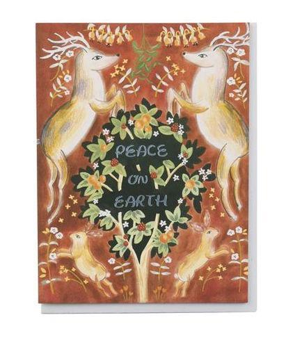 Peace On Earth Set of 8 Cards