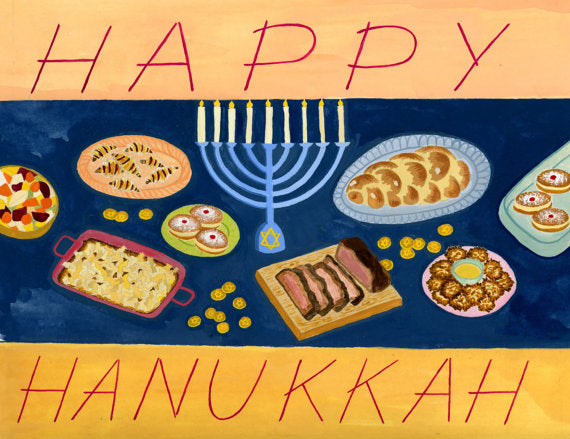 Hanukkah Feast Boxed Set of 8