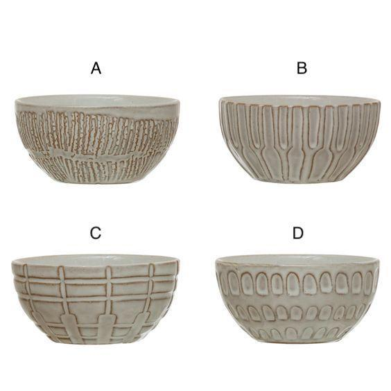 Textured Small Bowls