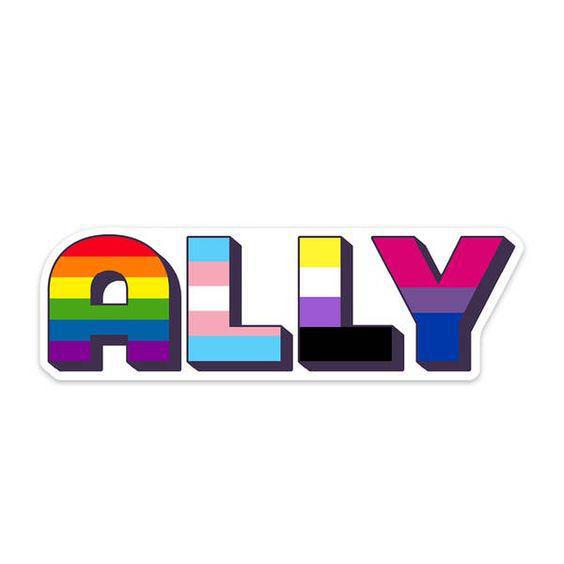 Ally LGBTQ Sticker