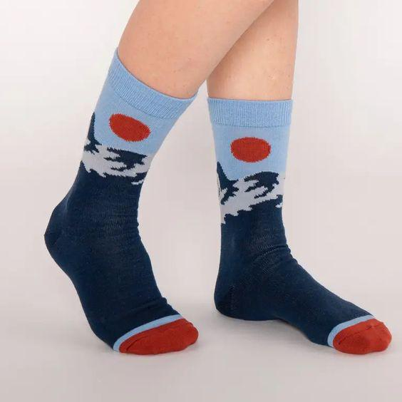 Merino Wool Crew Socks