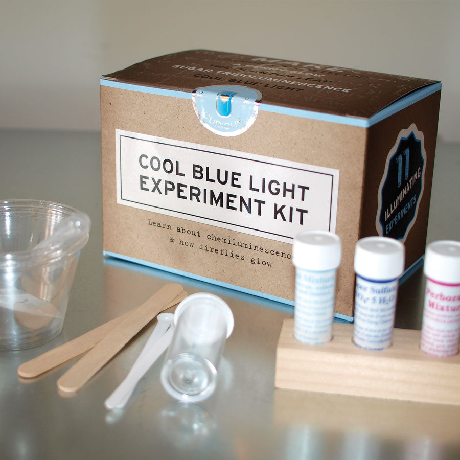 Cool Blue Light Experiment DIY Kit