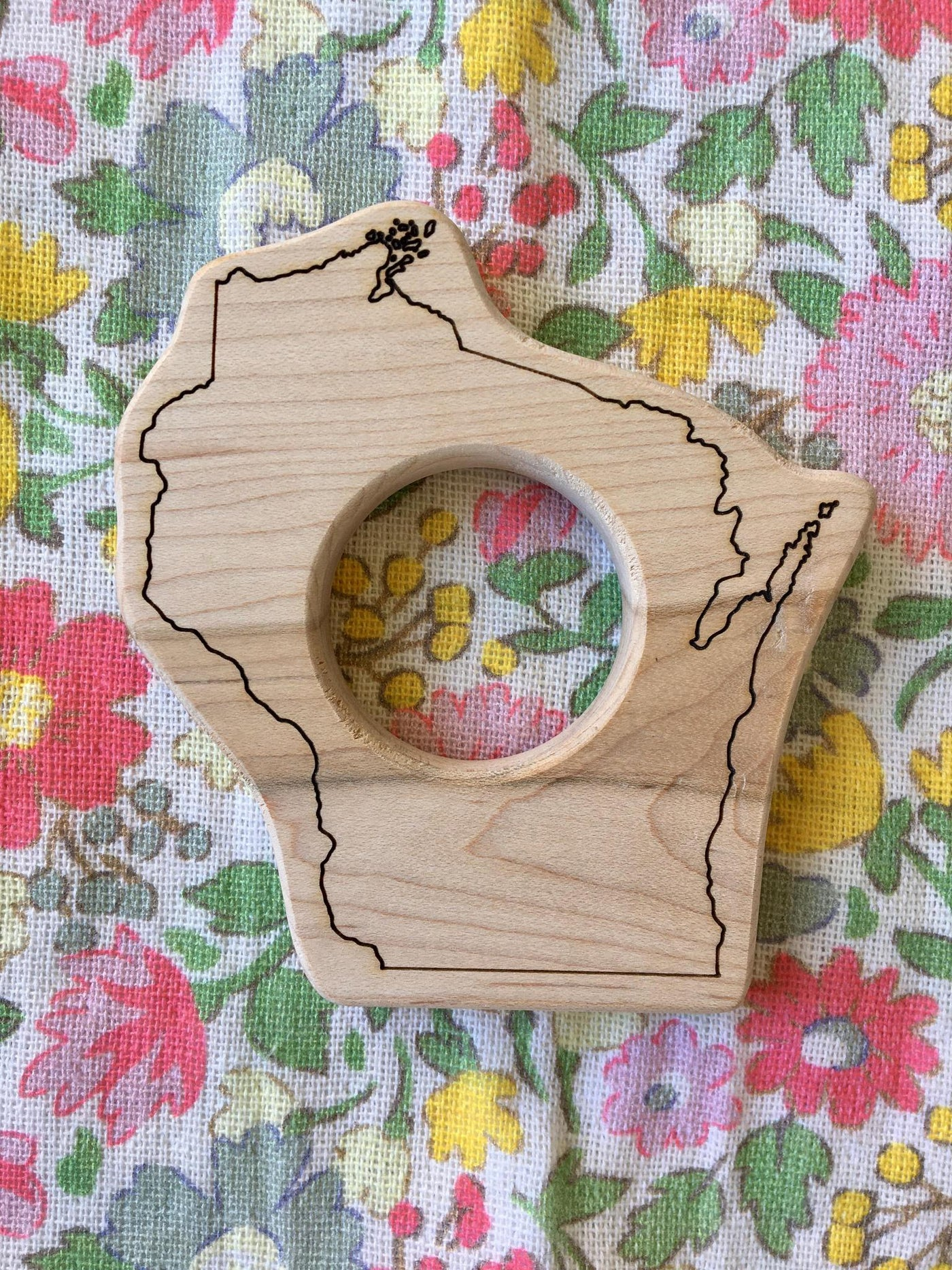Wisconsin Wood Toy Teether