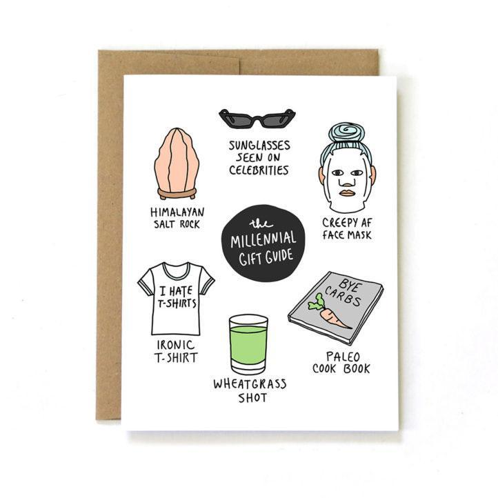Millennial Birthday Card