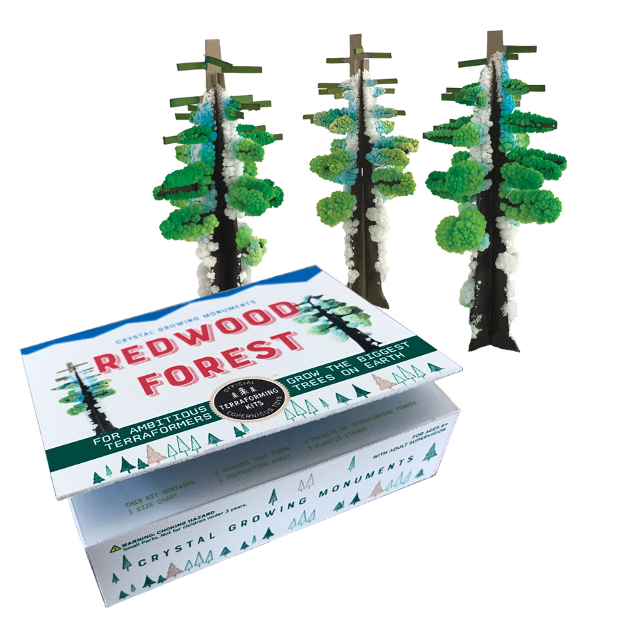 Crystal Growing Redwood Forest Kit