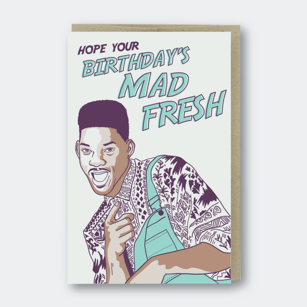 Mad Fresh Birthday (Fresh Prince)