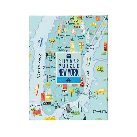 New York City Map 250 Piece Puzzle