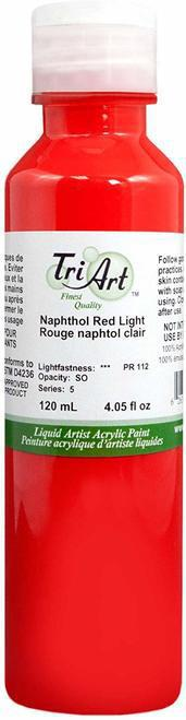 Tri Art Liquid Acrylic Napthol Red Light 120 mL