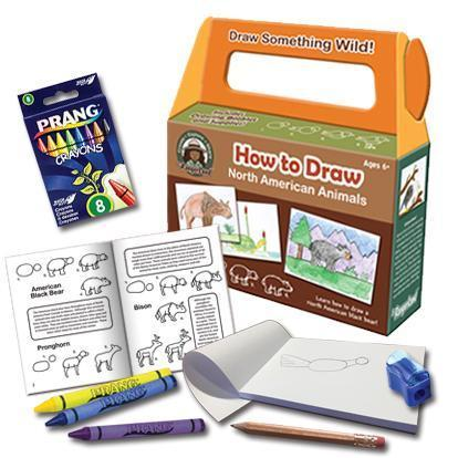 How to Draw North American Animals Kit