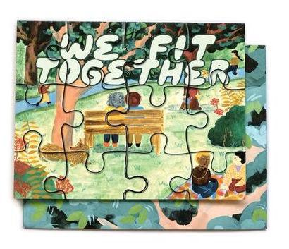 We Fit Together Puzzle Card