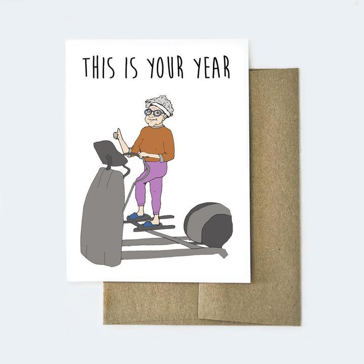 This is Your Year Card