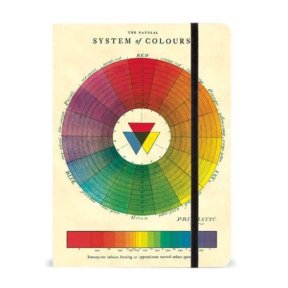 Color Wheel Notebook 6x8