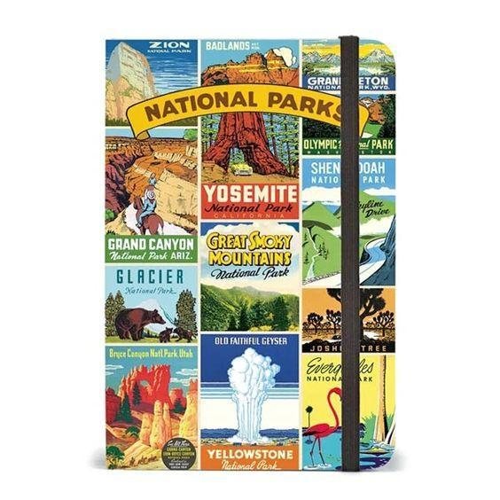 National Parks Notebook 6x8