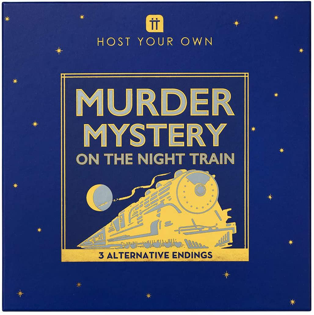 Murder Mystery On The Night Train Game
