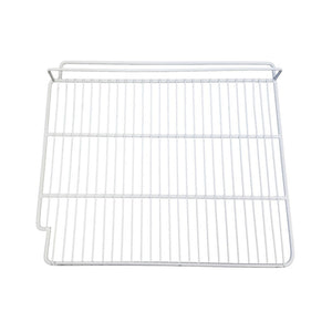 "White Epoxy Coated Wire Shelf - Right Side - 21 1/2"" x 18 3/4"", Shelf  - Iron Mountain"