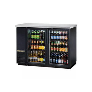 True TBB-24-48G Glass Door Back Bar Cooler, Back Bar Cooler  - Iron Mountain