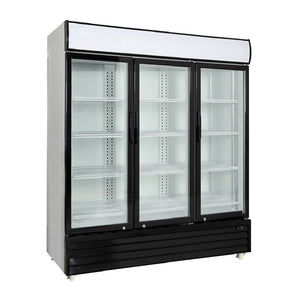 3-Door Upright Display Cooler, Display Cooler  - Iron Mountain