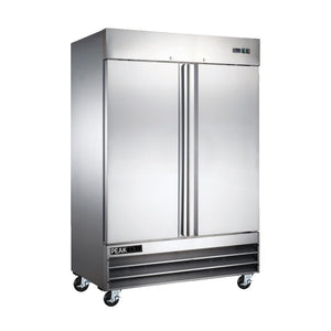 2-Door Stainless Steel Commercial Refrigerator