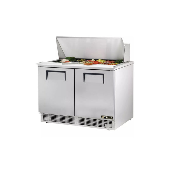 True TFP-48-18M Food Prep Table, Restaurant Prep Table  - Iron Mountain